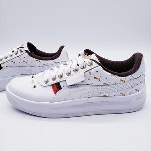Puma California Stud White Gold Jeweled Br…